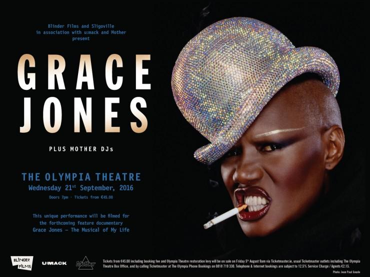 Grace Jones Olympia Dublin