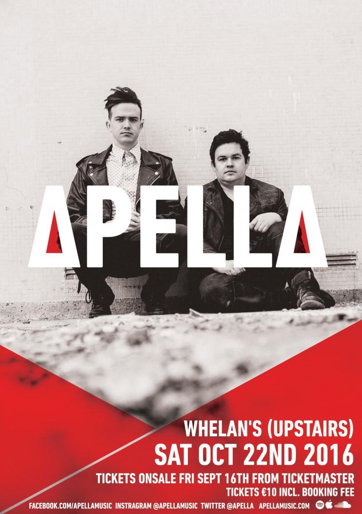 Apella Live At Whelans