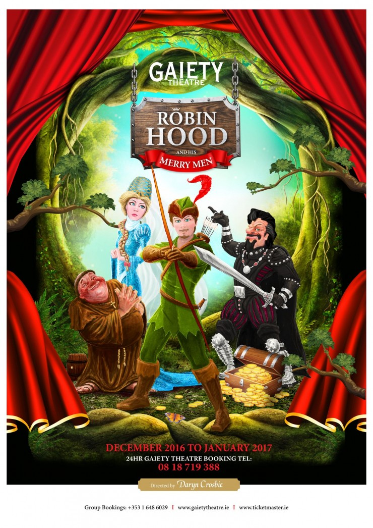 Robin Hood and His Merry Men, Gaiety Panto 2016