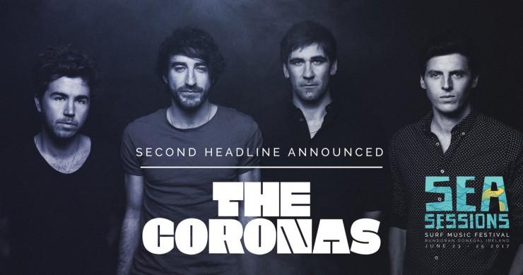 The Coronas Headline Sea Sessions
