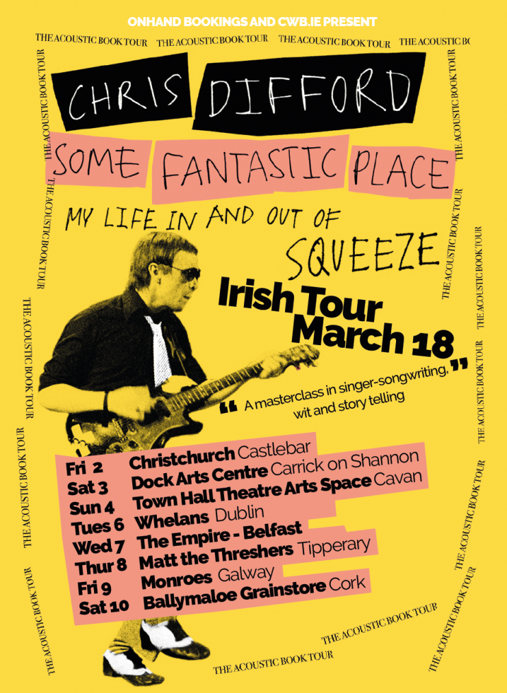Chris Difford Tour Poster