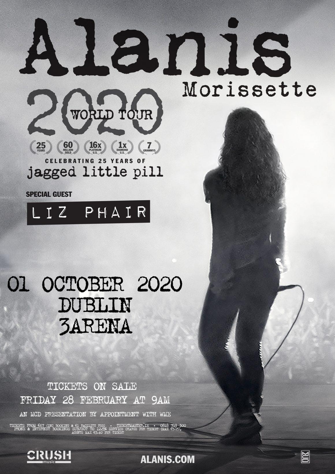 Alanis Morissette Event PR Music PR Festival PR Entertainment PR Concert PR Publicity Media Relations